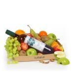 Fruitmand witte wijn