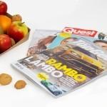 Fruitmand tijdschrift man