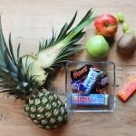Fruitmand snoep klein